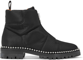 Alexander Wang Cooper Studded Shell Ankle Boots
