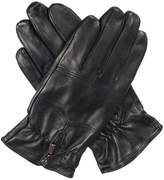 Dents Mens Leather Glove Elasticated Wrist