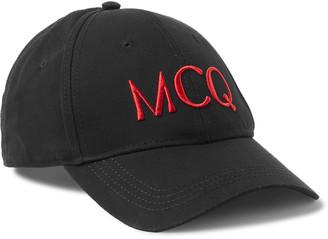 McQ Logo-Embroidered Cotton Baseball Cap