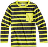 Epic Threads Striped Long-Sleeved Shirt, Little Boys (4-7), Created for Macy's