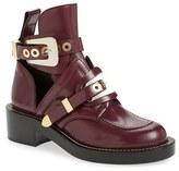 Balenciaga Women's Cutout Buckle Boot