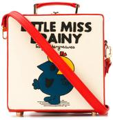 Olympia Le-Tan small Little Miss Brainy box tote - women - Cotton/Calf Leather - One Size