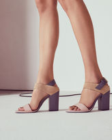 Ted Baker Block heeled buckle sandals