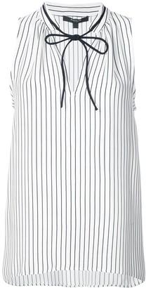 Derek Lam front fastened sleeveless blouse