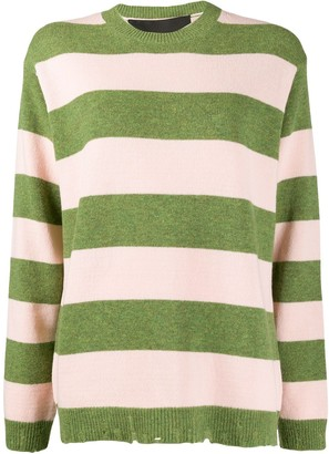 Marc Jacobs stripe print jumper