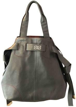 Lancel Green Leather Handbags