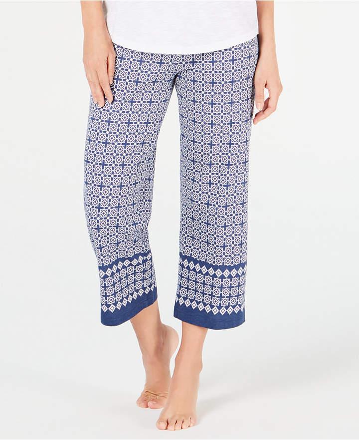 2064be66a69a Womens Cotton Knit Crop Pajamas - ShopStyle
