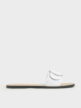 Charles & Keith Buckle Strap Slide Sandals