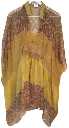 Paul & Joe Yellow Silk Dress for Women