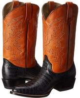 Roper Printed Caiman Round Toe Boot