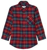 Lacoste Red Tartan Flannel Shirt