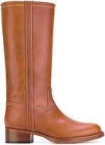 Etro tube boots - women - Leather/rubber - 37