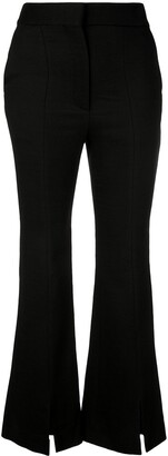 Adam Lippes Front Slit Trousers