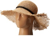 San Diego Hat Company SGF2016 Open Weave Seagrass Floppy Hat