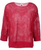 M Missoni ribbed sweatshirt