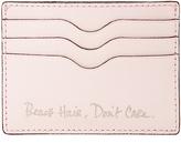 Rebecca Minkoff Beach Hair, Don't Care Bailey Card Case