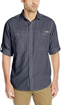 G.H. Bass Men's Solid Explorer Shirt With Roll-up Sleeve