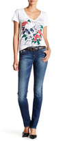 True Religion Flap Pocket Slim Straight Leg Jean