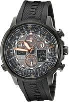 Citizen Men's JY8035-04E Navihawk A-T Eco-Drive Perpetual Chrono Strap Watch