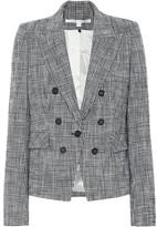 Veronica Beard Diego checked tweed blazer