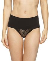 Spanx Undie-Tectable® High-Waist Lace Thong, Black
