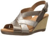 Clarks Women's Helio Coral Wedge Sandal