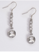 M&S Collection Stone Drop Earrings