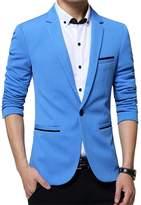 Benibos Men's Slim Fit Casual Premium Blazer Jacket (M, )
