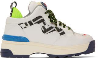 Fendi White Forever T-Rex Sneakers