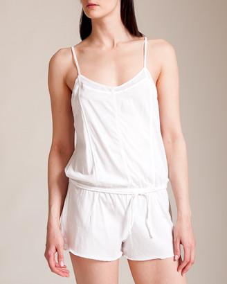 Woolrich Skin Pima Jersey Tulle Romper