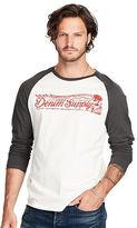 Denim & Supply Ralph Lauren Cotton Graphic Baseball Tee