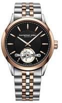Raymond Weil Freelancer Open Balance Wheel Stainless Steel Automatic Watch