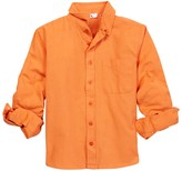 Dex Long Sleeve Pocket Button Shirt (Little Boys & Big Boys)