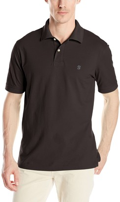 Izod Men's Heritage Solid Pique Polo