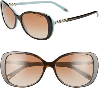 Tiffany & Co. 55mm Gradient Butterfly Sunglasses