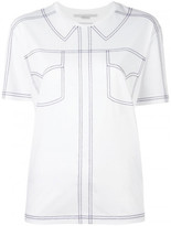 Stella McCartney embroidered shirt detail T-shirt