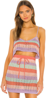 Lovers + Friends Tropicali Top