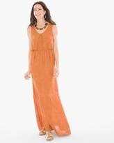 Chico's Textured Maxi Dress