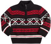 Chaps Toddler Boy 1/4-Zip Novelty Pullover Sweater
