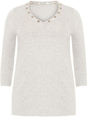Studio 8 Anna Eyelet Knit Jumper