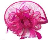 Jelinda Women Feather Hair Hook Fascinator Hair Hat for Wedding
