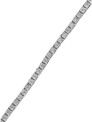 Effy 14K White Gold 1 CT. T.W. Diamond Tennis Bracelet