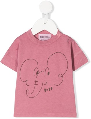 Bobo Choses elephant print T-shirt