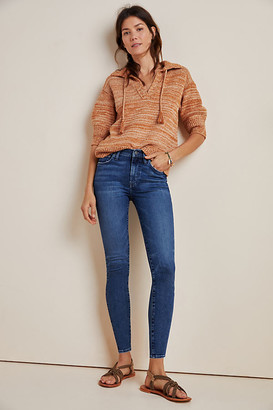 Anthropologie EDWIN Pixie Mid-Rise Skinny Jeans By in Blue Size 32