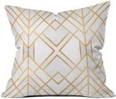 DENY Designs Elisabeth Fredriksson Golden Geo Throw Pillow - 16 x 16