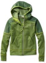 L.L. Bean L.L.Bean Boys' Mountain Fleece Hoodie, Full-Zip Colorblock