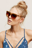 Free People Womens LOVE ME TWO TIMES SUNGLAS