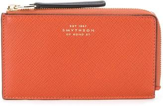 Smythson Panama zipped purse