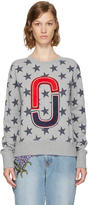 Marc Jacobs Grey 90s Star Sweatshirt
