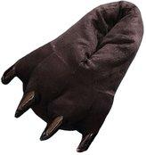 Amigo Unisex Plush Bear Paw Animal Slippers